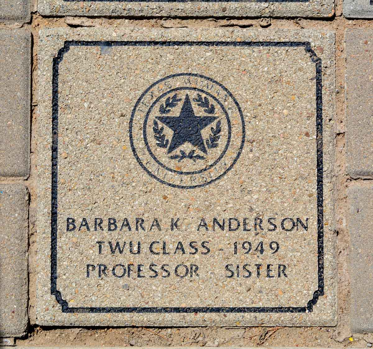 San Angelo Texas Anderson Barbara K Vva 457 Memorial Area A 1 Of 121