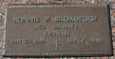 Broadfoot, Ronnie W. - Find a grave web