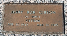 Gibson, Jerry Bob - Find a grave web