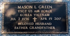 Green, Mason L. - Find a grave web