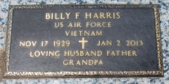 Harris, Billy F. - Find a grave web
