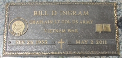 Ingram, Bill D. - Find a grave web