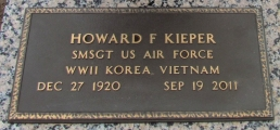 Kieper, Howard F. - Find a grave web