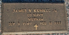 Kunkel, James V. Jr. - Find a grave web