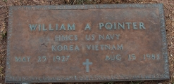 Pointer,William A. - Find a grave web