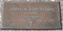 Robertson, James M. - Find a grave web