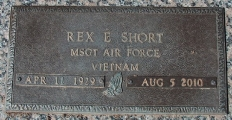 Short, Rex E. - Find a grave web