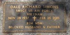 Simons, Dale Richard - Find a grave web
