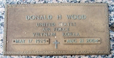 Wood, Donald H. - Find a grave web