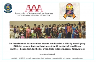 Asian American Women - Poster Sept 2018