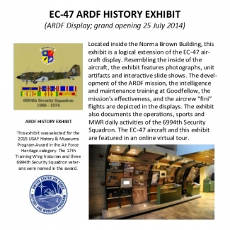EC-47 History Exhibit.234