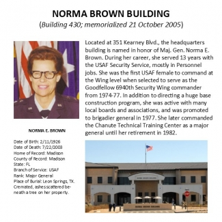 Norma Brown Building MGen.23456