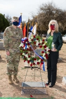 1Lt Rhude Mark Mathis, Jr. Memorial Dedication WEB-116