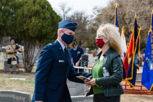 1Lt Rhude Mark Mathis, Jr. Memorial Dedication WEB-24