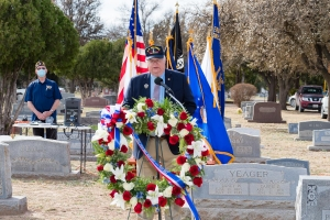 1Lt Rhude Mark Mathis, Jr. Memorial Dedication WEB-98