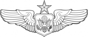 AF Senior Officer Aircrew Wings - $AAFSOW