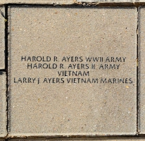 Ayers, Harold R. WWII - VVA 457 Memorial Area C (12 of 309) (2)