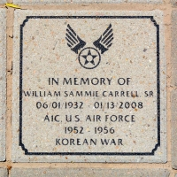 Carrell, William Sammie Sr. - VVA 457 Memorial Area A (88 of 121) (2)