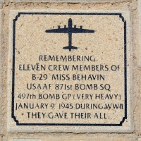Crew Members of B-29 Miss Behavin - VVA 457 Memorial Area A (23 of 121) (2)