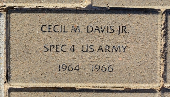 Davis, Cecil M. Jr. - VVA 457 Memorial Area C (148 of 309) (2)