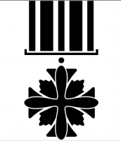 Distinguished flying cross vectorized