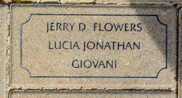 Flowers, Jerry D. (Lucia Jonathan, Giovani) - VVA 457 Memorial Area B (90 of 222) (2)