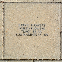 Flowers, Jerry D. - Imelda Flowers Tracy Brian - VVA 457 Memorial Area B (60 of 222) (2)