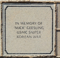 Geesling, 'Mick' - VVA 457 Memorial Area C (75 of 309) (2)