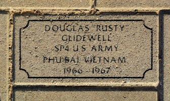 Glidewell, Douglas 'Rusty' - VVA 457 Memorial Area C (248 of 309) (2)
