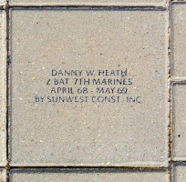 Heath, Danny W. - VVA 457 Memorial Area B (207 of 222) (2)