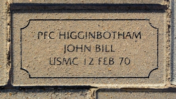Higginbotham, John Bill - VVA 457 Memorial Area C (190 of 309) (2)