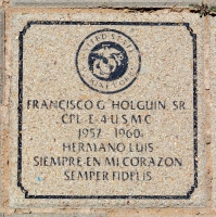 Holguin, Francisco G. Sr. - VVA 457 Memorial Area A (78 of 121) (2)