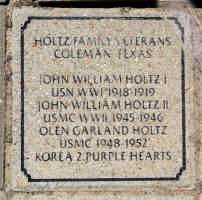 Holtz Family Veterans (John I & John II, Olen) - VVA 457 Memorial Area A (52 of 121) (2)