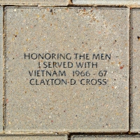 Honoring The Men I Served With - Clayton D. Cross - VVA 457 Memorial Area B (53 of 222) (2)