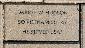 Hudson, Darrel W. - VVA 457 Memorial Area C (10 of 309) (2)