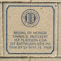 McCleery, Finnis D. Medal of Honor - VVA 457 Memorial Area B (88 of 222) (2)
