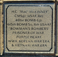 McKinney, H. C. 'Mac' - VVA 457 Memorial Area C (301 of 309) (2)