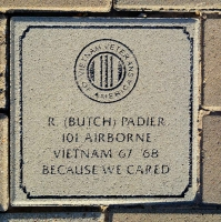 Padier, R. (Butch) - VVA 457 Memorial Area C (239 of 309) (2)
