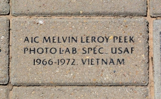 Peek, Melvin Leroy - VVA 457 Memorial Area A (12 of 121) (2)