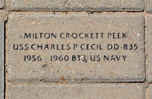 Peek, Milton Crockett - VVA 457 Memorial Area A (10 of 121) (2)