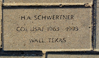 Schwertner, H. A. - VVA 457 Memorial Area C (228 of 309) (2)