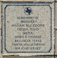 Thomas, Doris D. (Sister) - VVA 457 Memorial Area B (212 of 222) (2)