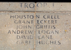 Troop 1 Creel Eckert Griffis Logan Lane Hughes - VVA 457 Memorial Area A (116 of 121) (2)