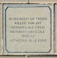 USS Cole Crew Members - VVA 457 Memorial Area B (123 of 222) (2)