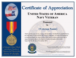 Veteran Name - Navy