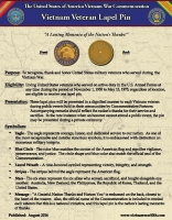Vietnam Veteran Lapel Pin Fact Sheet (1)