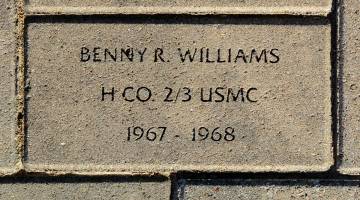 Williams, Benny R. - VVA 457 Memorial Area C (162 of 309) (2)
