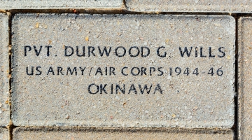 Wills, Durwood G. - VVA 457 Memorial Area B (47 of 222) (2)