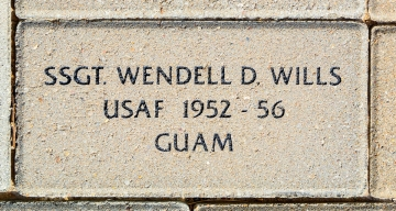 Wills, Wendell D. VVA 457 Memorial Area B (76 of 222) (2)