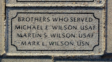 Wilson, Michael E. (brother)- VVA 457 Memorial Area C (233 of 309) (2)